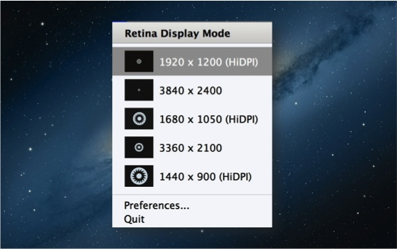 RESOLUCIONES PUPIL MBPR Cambia la resolución de la pantalla retina del MacBook Pro Retina con Pupil
