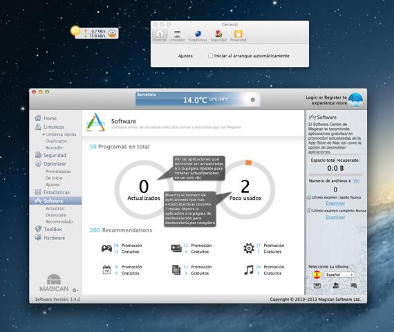 magican 4 Magican una aplicación de limpieza con extras para Mac
